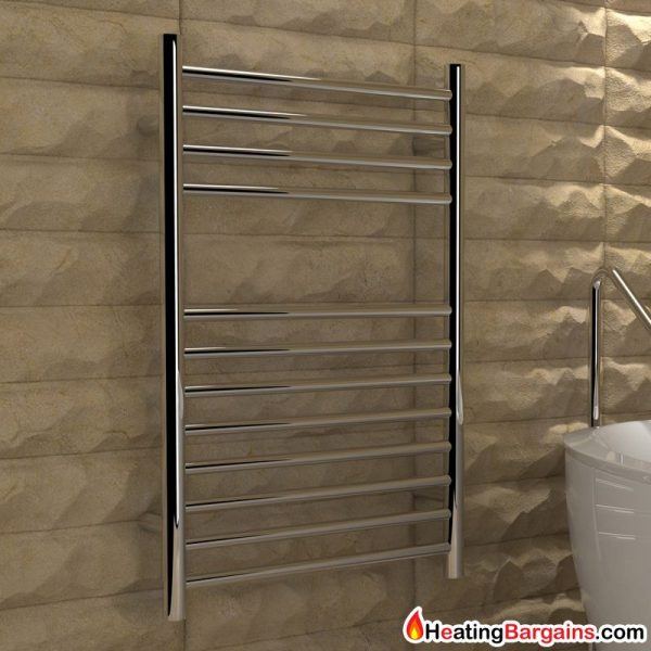 Kudox Flat Electric Towel Radiator: Designer Radiators And Towel Warmers