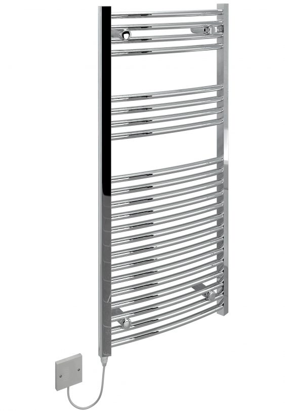 5060069429308 Electric Towel Rail Curved 500x1100