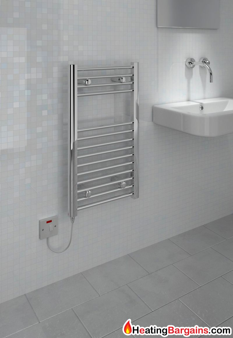 Kitchen Ladder Radiator Kudox Electric Towel Rail Standard 400mm X 700mm