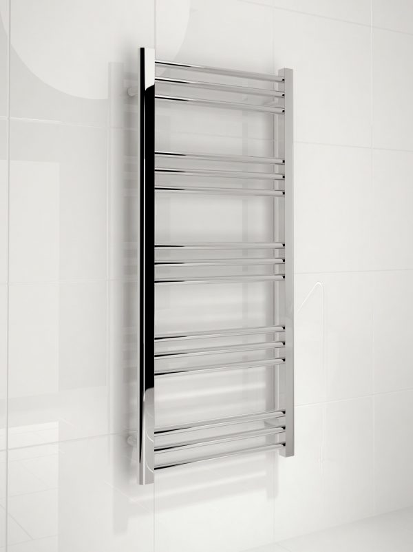5060069429735 Kudox Timeless Towel Rail 500mm x 1100mm Chrome IS